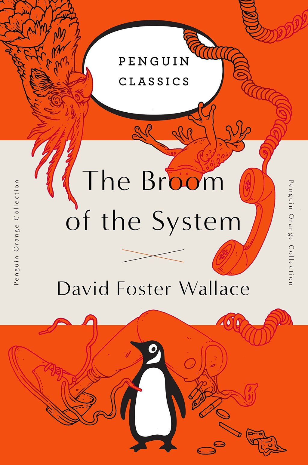 Capa de The Broom of the System