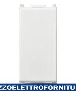 Pulsante 1P NO 10A bianco