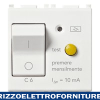 Interruttore MTDiff. 1P+N C6 10mA bianco
