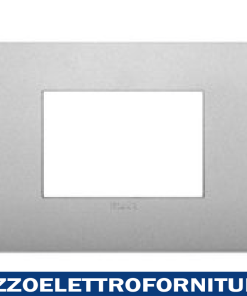 Placca Classic 3M silver matt
