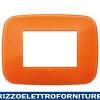 Placca Round 3M Reflex orange