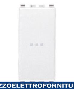 Deviatore 1P 16AX assiale bianco