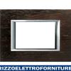 BTICINO axolute - placca 3P legno wenge'