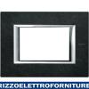 BTICINO axolute - placca 3P pietra Ardesia