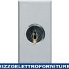 BTICINO axolute - interrut 2P 16A chiavi uguali