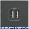 BTICINO axolute - caricatore USB 2p 2400mA 5V ant