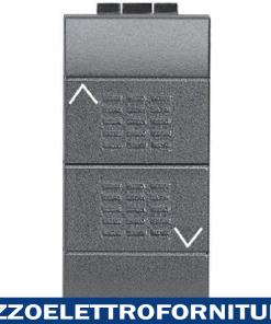 BTICINO living int - 2 pulsanti NO interbloccati
