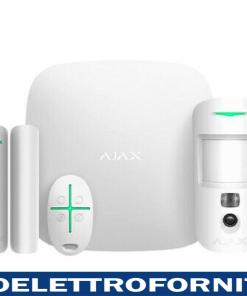 Centrale fino a 200 periferiche e 100 telec. Ajax 20294 StarterKit Cam Plus bianco