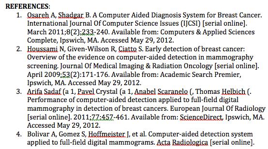 website bibliography format