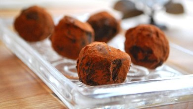 Photo of كرات الشوكولاته بجبنه الريكوتا