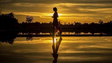 صورة تفسير حلم المشي في المنام , معنى المشي في الحلم