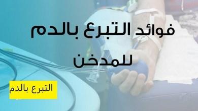 صورة فوائد التبرع بالدم للمدخنين
