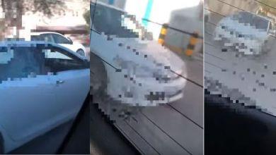 Photo of تفاصيل فيديو في السعوديه لشاب يطارد مركبة طالبات و يعتدي على قائدها