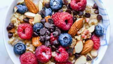 Photo of 9 وصفات إفطار صحية لإنقاص الوزن