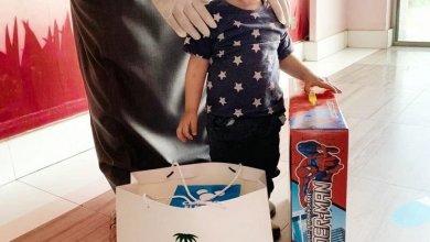 """صورة """" ليث """" الطفل الذي هزم فيروس كورونا المستجد في نجران"""