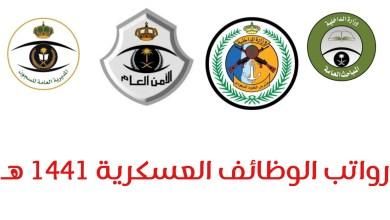 Photo of سلم رواتب العسكر 1441