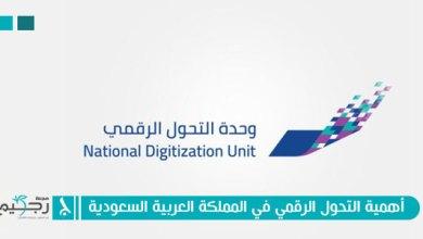 صورة أهمية التحول الرقمي في المملكة العربية السعودية