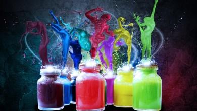 صورة تأثير الألوان على الحالة النفسية