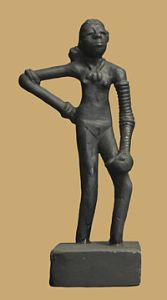 The Dancing Girl of Harappa. Source: Wikipedia
