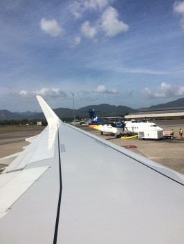 Before Departing Port-of-Spain