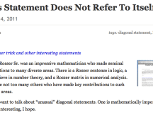 This Statement Does Not Refer To Itself | Gödel's Lost Letter and P=NP