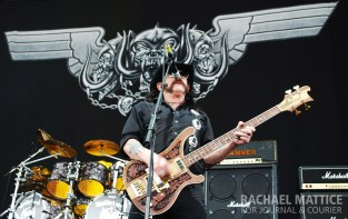 Motorhead performs on the Main Stage during Mayhem Festival at Klipsch Music Center in Noblesville, Ind. on Sunday, July 15, 2012. (Photo by Rachael Mattice/Journal & Courier)