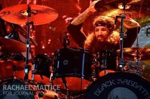 Black Sabbath performs at Klipsch Music Center in Noblesville, Ind. on Sunday, August 18, 2013. (Photo by Rachael Mattice/Journal & Courier)