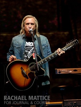 """(Photo by Rachael Mattice/Journal & Courier) The Eagles took the """"History of the Eagles"""" tour to Bankers Life Fieldhouse in Indianapolis, Ind. on Friday, October 18, 2013."""