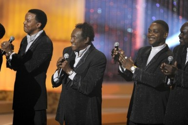 Getty Images March 16: Bobbie Smith, lead singer of The Spinners (Marvin Taylor, Bobbie Smith and Jessie Robert Peck)
