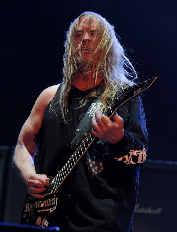 May 2: Jeff Hanneman, guitarist for Slayer. Getty Images