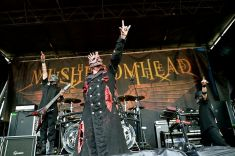 Mushroomhead performed on the Coldcock Whiskey stage at Mayhem Festival at the San Manuel Amphitheater in San Bernardino, Calif. on Saturday, July 5, 2014. (All photos taken by and belong to Rachael Mattice/OC Weekly, Metal Insider)