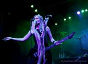 Myrkur performs at The Observatory in Santa Ana, California on Saturday, May 7, 2016. Photo by Rachael Mattice/For Metal Insider
