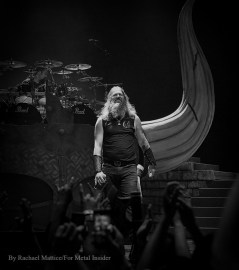 Amon Amarth performs at The Wiltern in Los Angeles, California on Saturday, May 21, 2016. Photo by Rachael Mattice/For Metal Insider