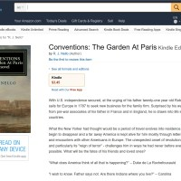 "PUBLISHED: ""Conventions: The Garden At Paris"""
