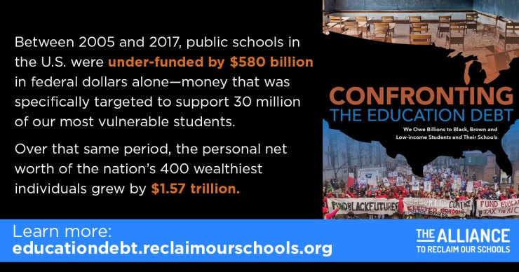 Confronting Education Debt >> Confronting The Education Debt And Failing Brown V Board The Crisis
