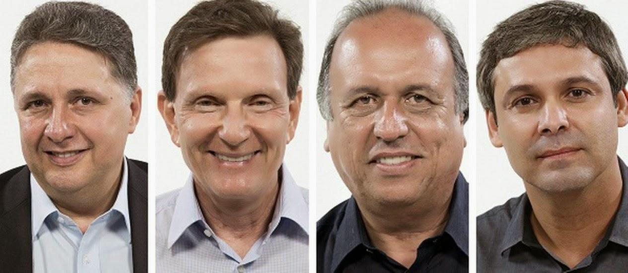 Pesquisa Datafolha sobre a eleição para governador do Rio de Janeiro