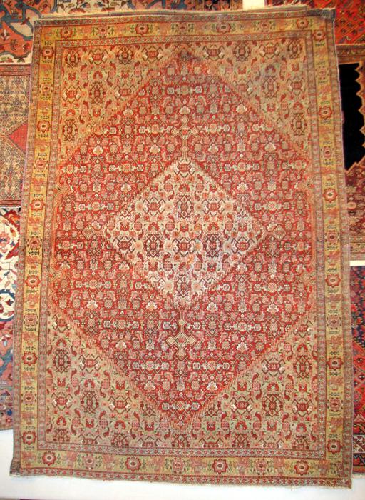 122 Senneh Herati rug