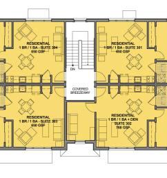 upper story plan [ 2048 x 1253 Pixel ]