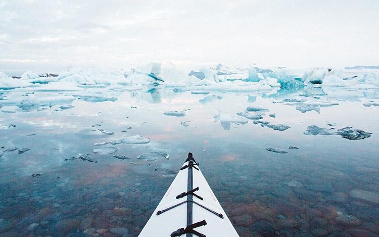 Йокюльсадлон ледник Лагуна, Исландия