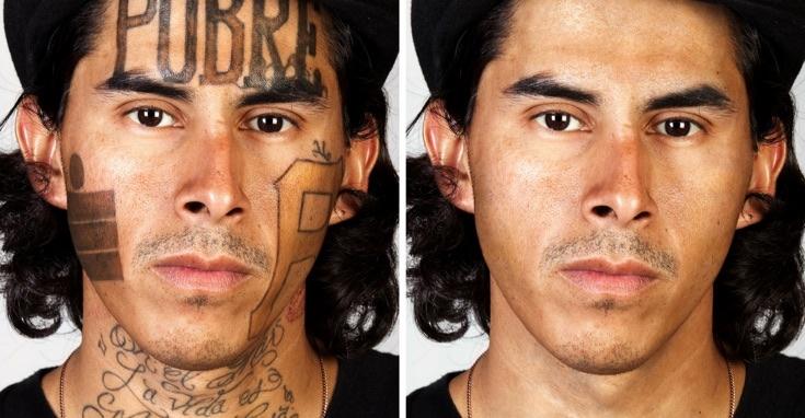 Люди с татуировками и без