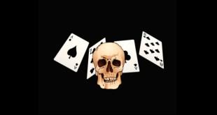 череп игральные карты