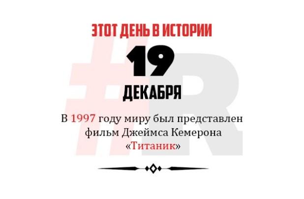День в истории 19 декабря