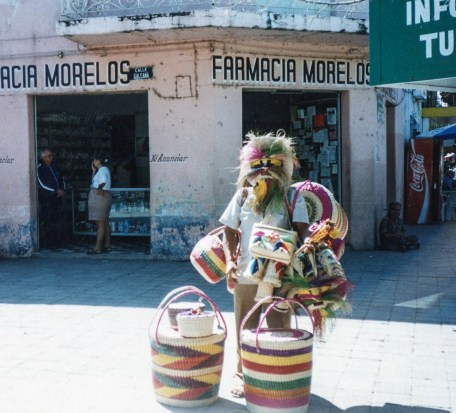 One of the many street vendors around the city