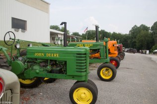 An annual tractor show in Owen County