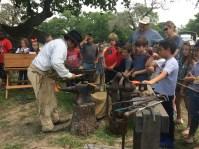 Blacksmith shop on School Day