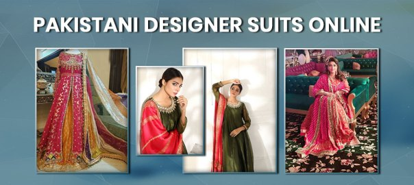 best Pakistani Designer Suits Online