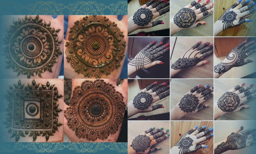 Mind Blowing Indian Mehndi Designs Product Image