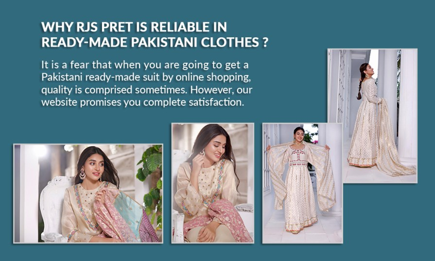 Ready-made Pakistani Clothes Online