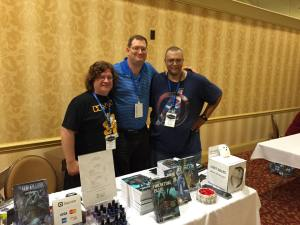 Eric Garrison, me, John F. Allen