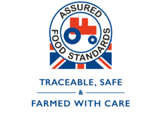 The Red Tractor is an independent mark of quality that guarantees the food we purchase comes from farms and food companies that meet high standards of food safety and hygiene, animal welfare and environmental protection.
